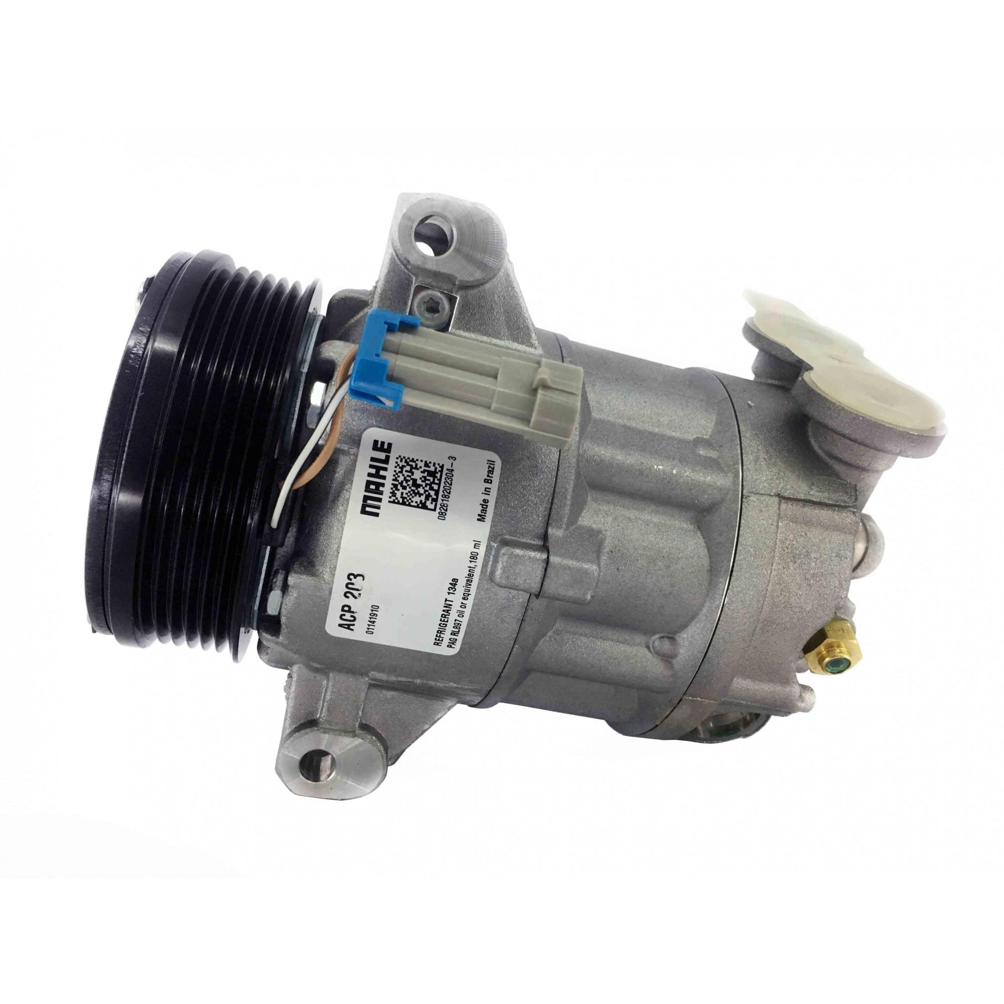 Compressor S10 2.4 Gas 2.8 Diesel - Original MAHLE + Brinde