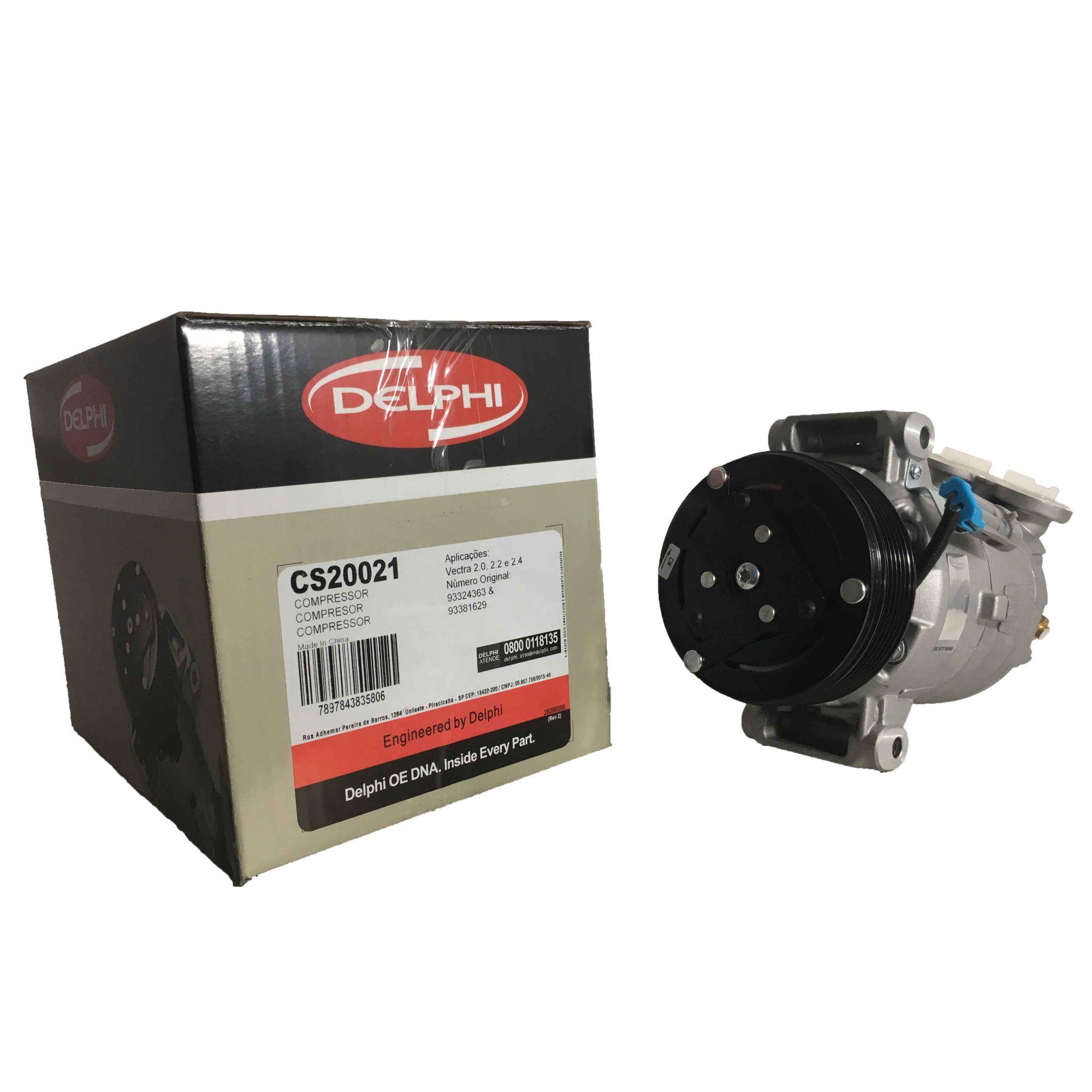 Compressor Vectra 97 Até 2005 - Original DELPHI