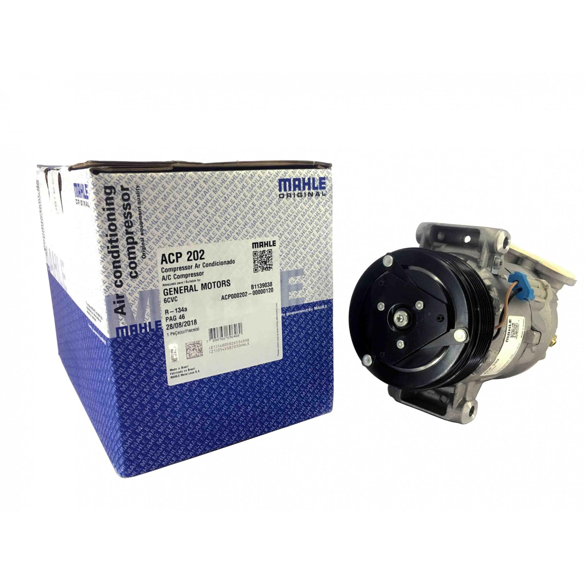 Compressor Vectra ano 97 Até 2005 - Original MAHLE