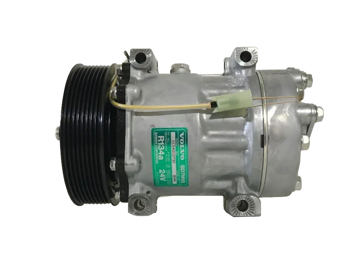 Compressor Volvo 7H15 24v 8pk - Original SANDEN