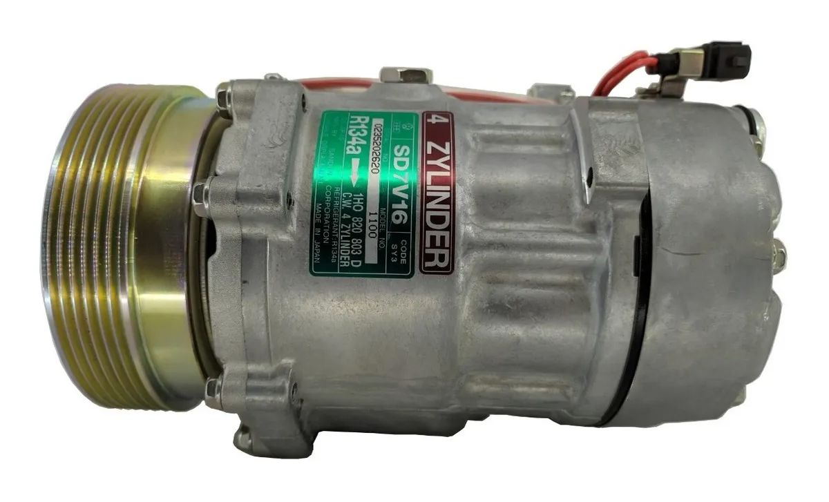 Compressor Vw Golf / Passat / Polo 94 Até 99 - SANDEN