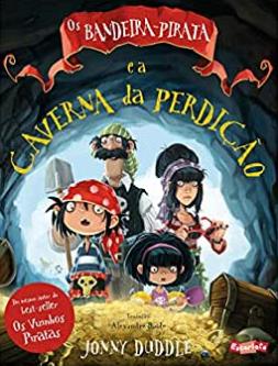 Bandeira Pirata e a Caverna da Perdição  - Loja Bonde Lê