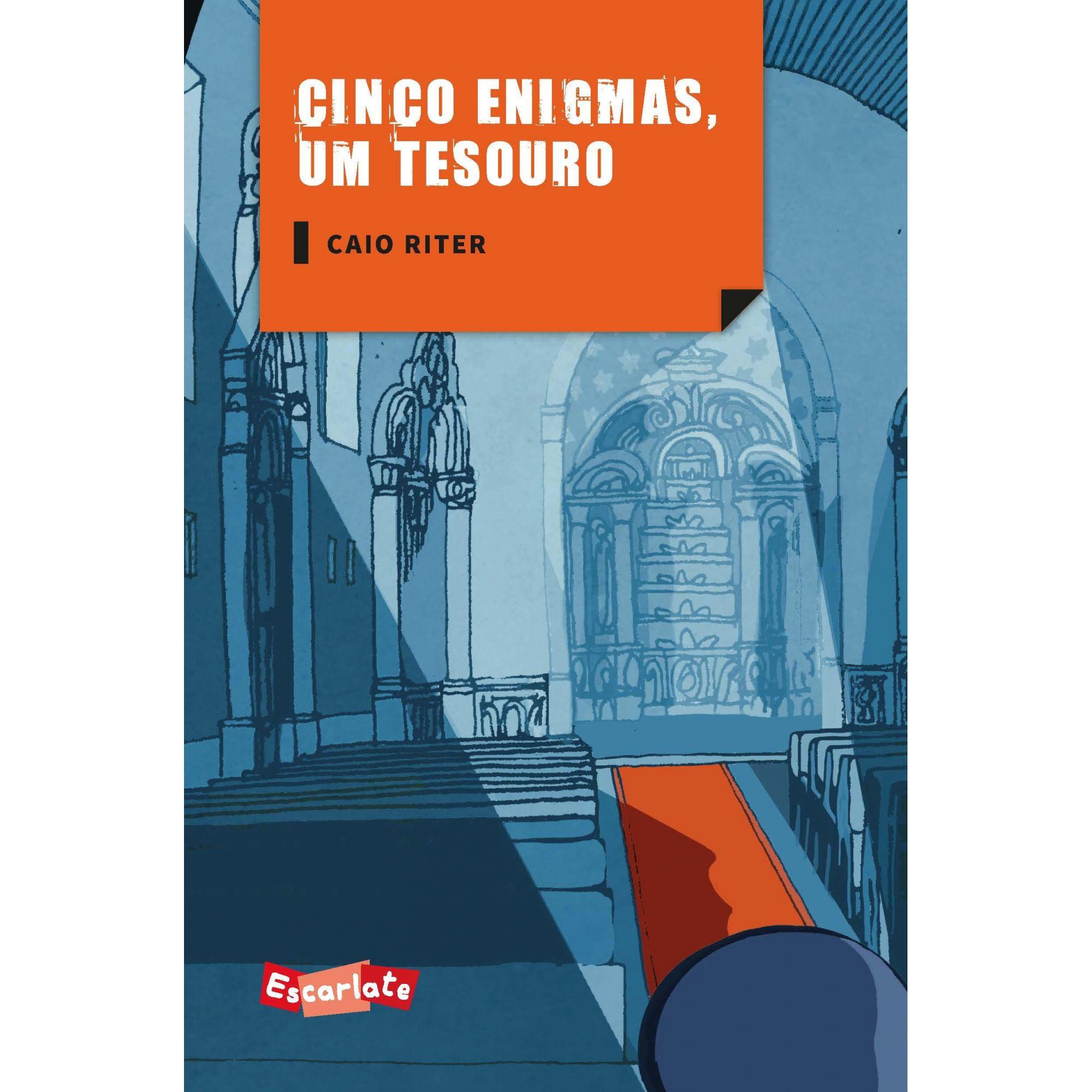 CINCO ENIGMAS UM TESOURO  - Loja Bonde Lê