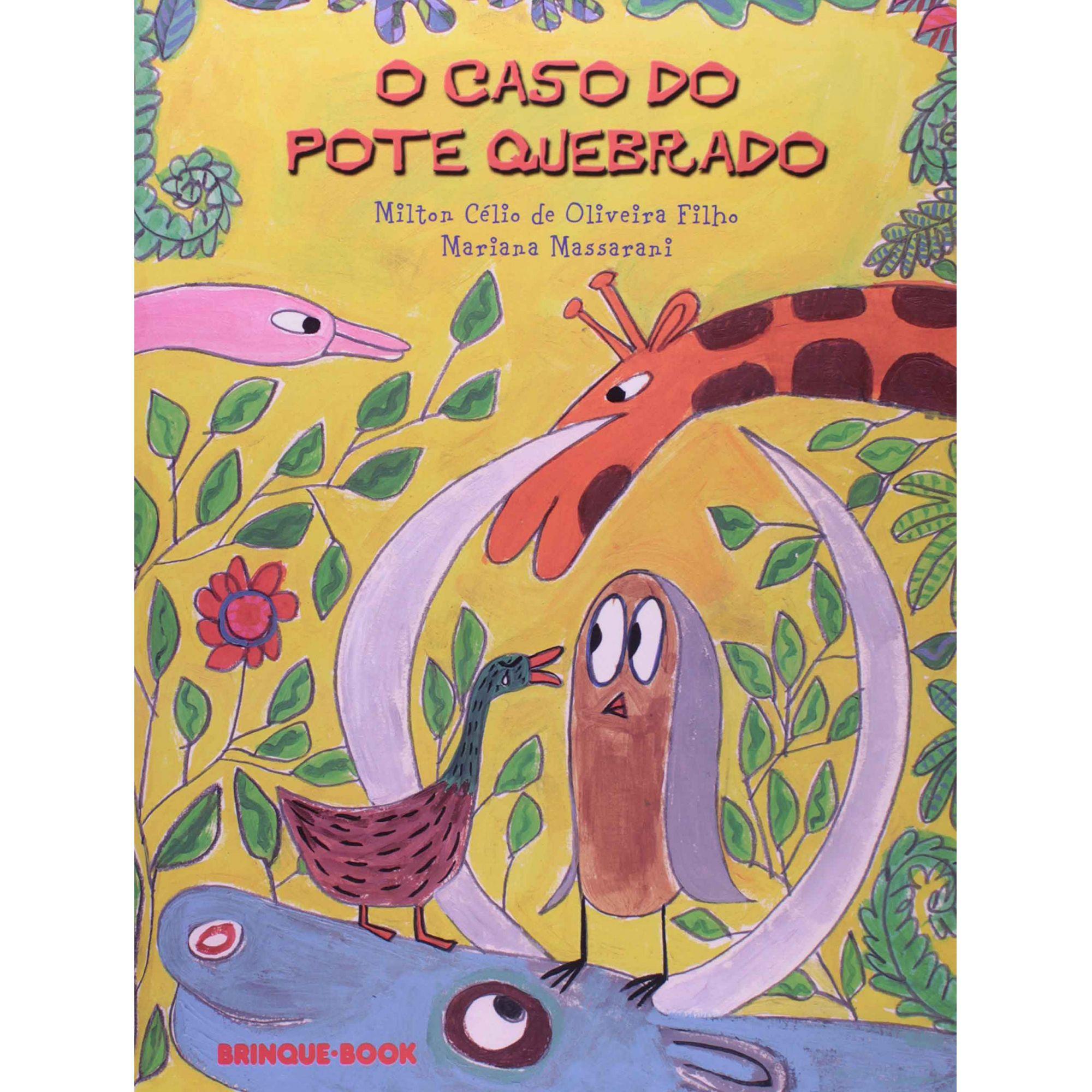 O CASO DO POTE QUEBRADO  - Loja Bonde Lê