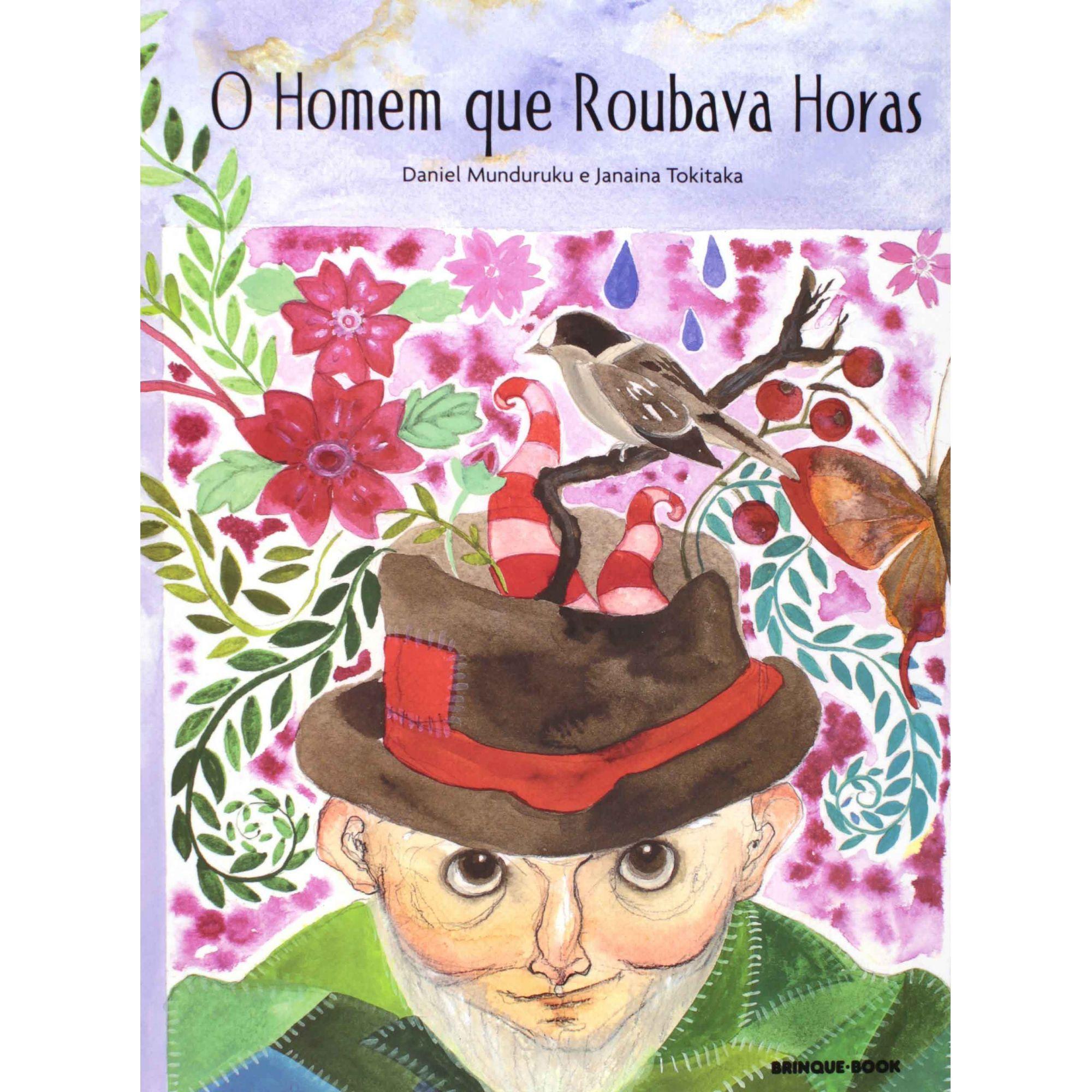 O HOMEM QUE ROUBAVA HORAS  - Loja Bonde Lê