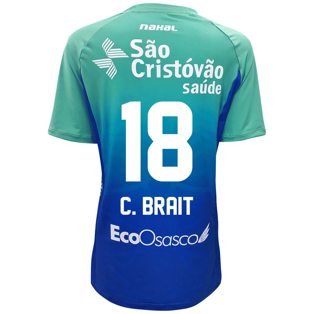 Camisa Osasco Voleibol Feminina - 2021/22 - C. BRAIT
