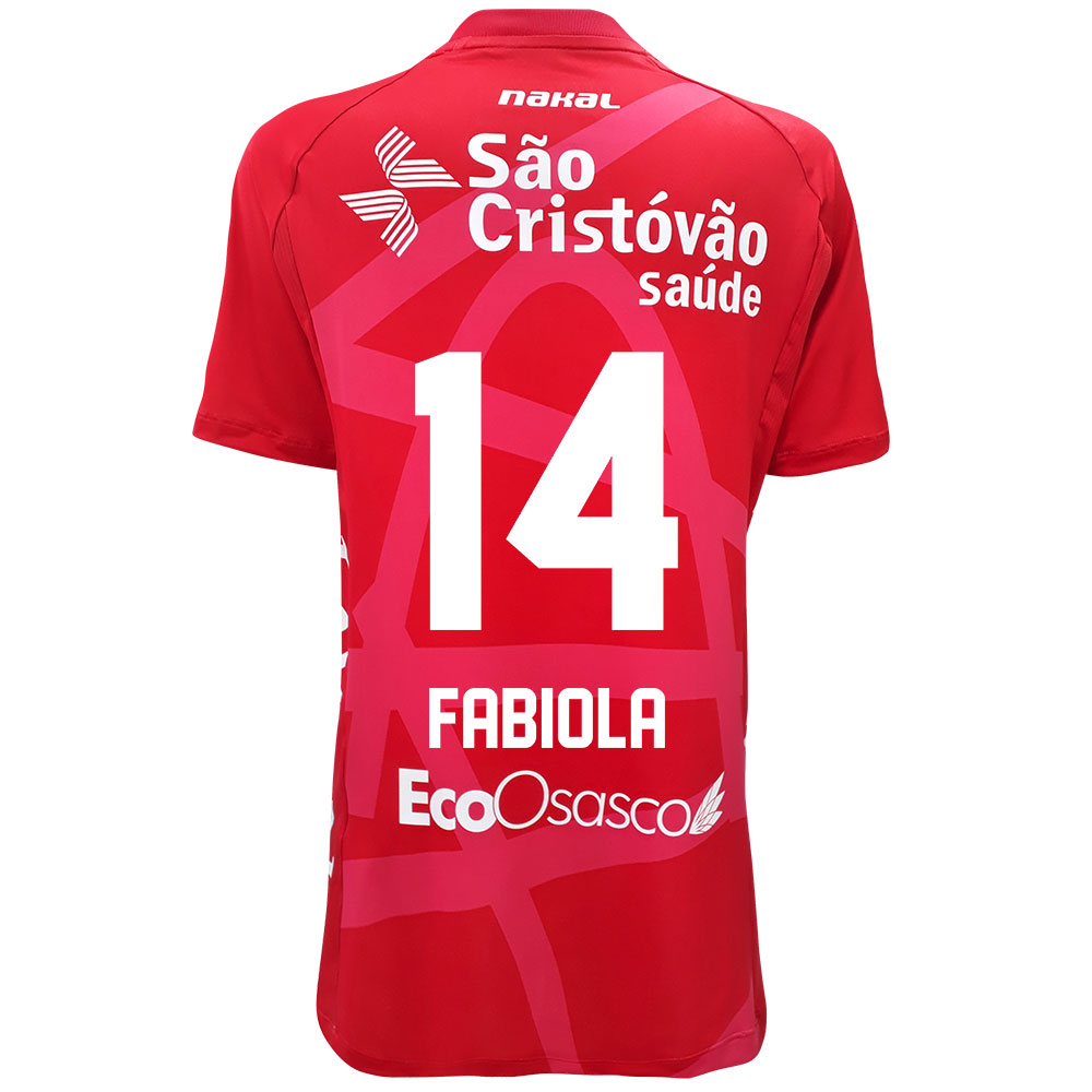 Camisa Osasco Voleibol Feminina - 2021/22 - FABIOLA