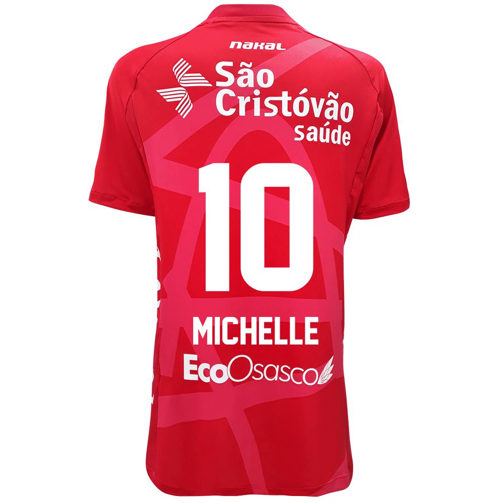 Camisa Osasco Voleibol Feminina - 2021/22 - MICHELLE