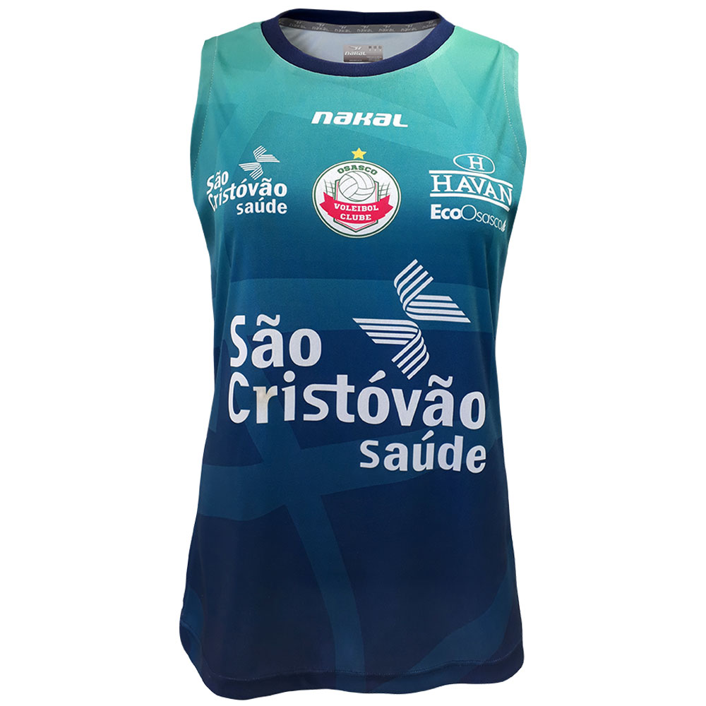 Camisa Treino Osasco Voleibol Feminina Regata - 2021/22