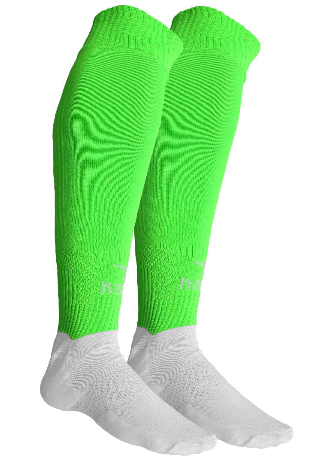 Meião Nakal Sensitive Verde Flúor