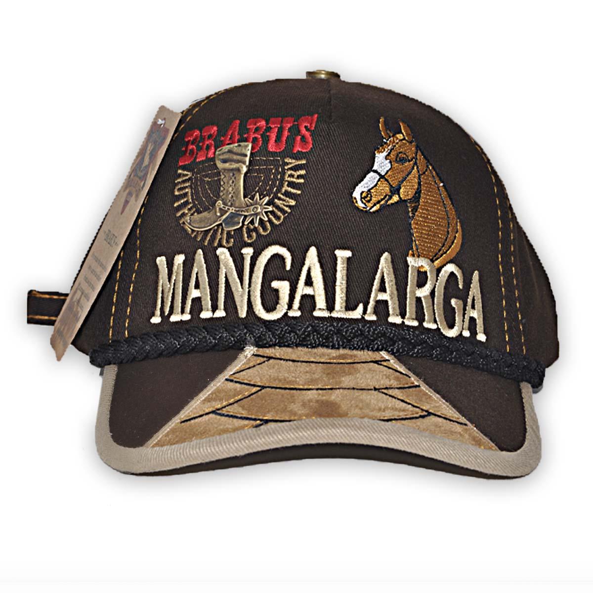 Boné Country Brabus - Mangalarga 2 - Marrom
