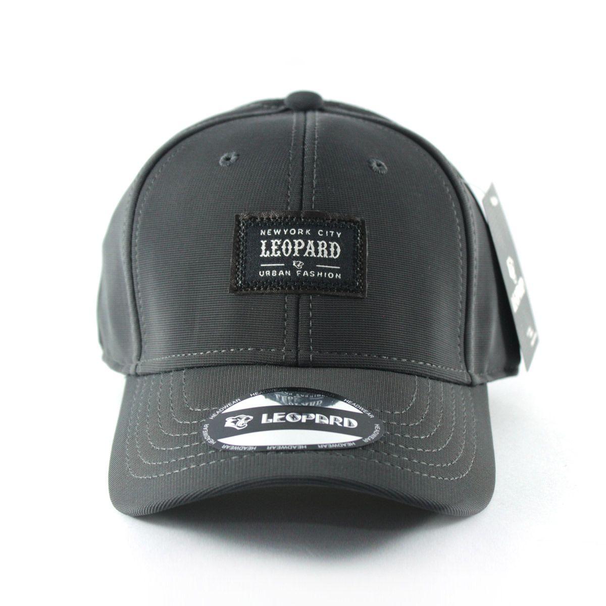 Boné Leopard Flex - Cinza Escuro