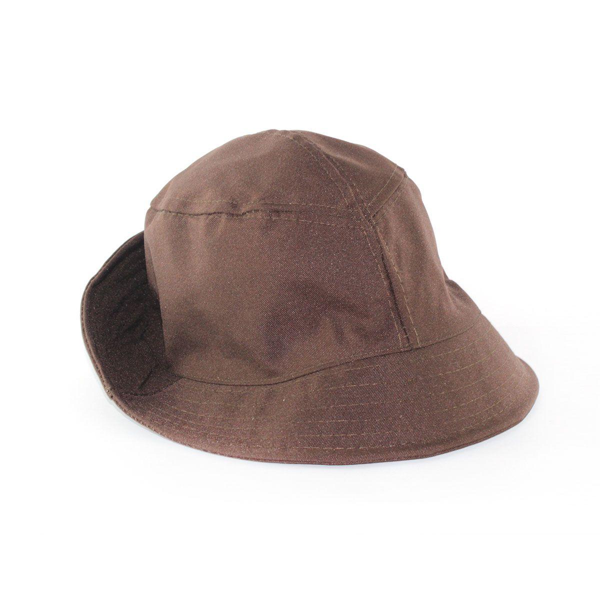 Chapéu Bucket - Chocolate