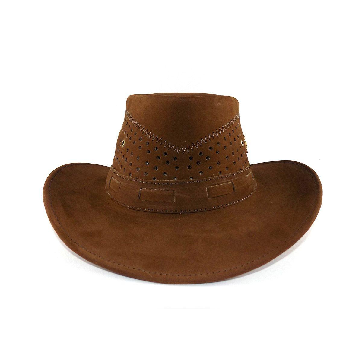 Chapéu de Couro Australiano - Castor