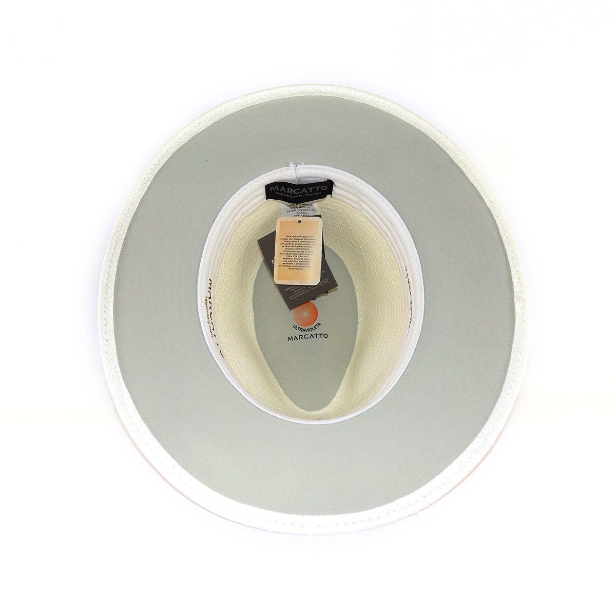 Chapéu Marcatto Panamá Original com Proteção UV (palha Toquilla)
