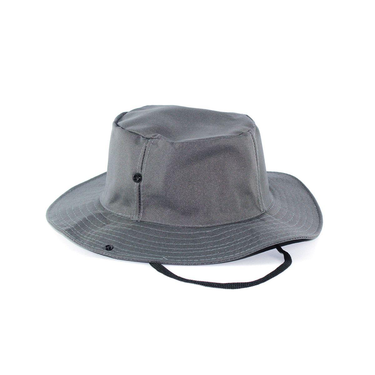 Chapéu Pescador Safari - Cinza Escuro