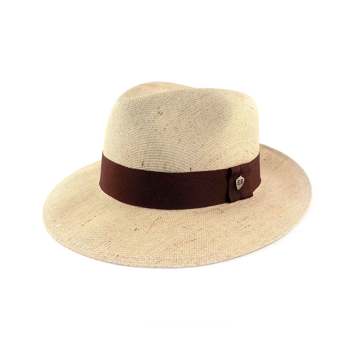 Chapéu Rio Branco Fedora Juta Algodão