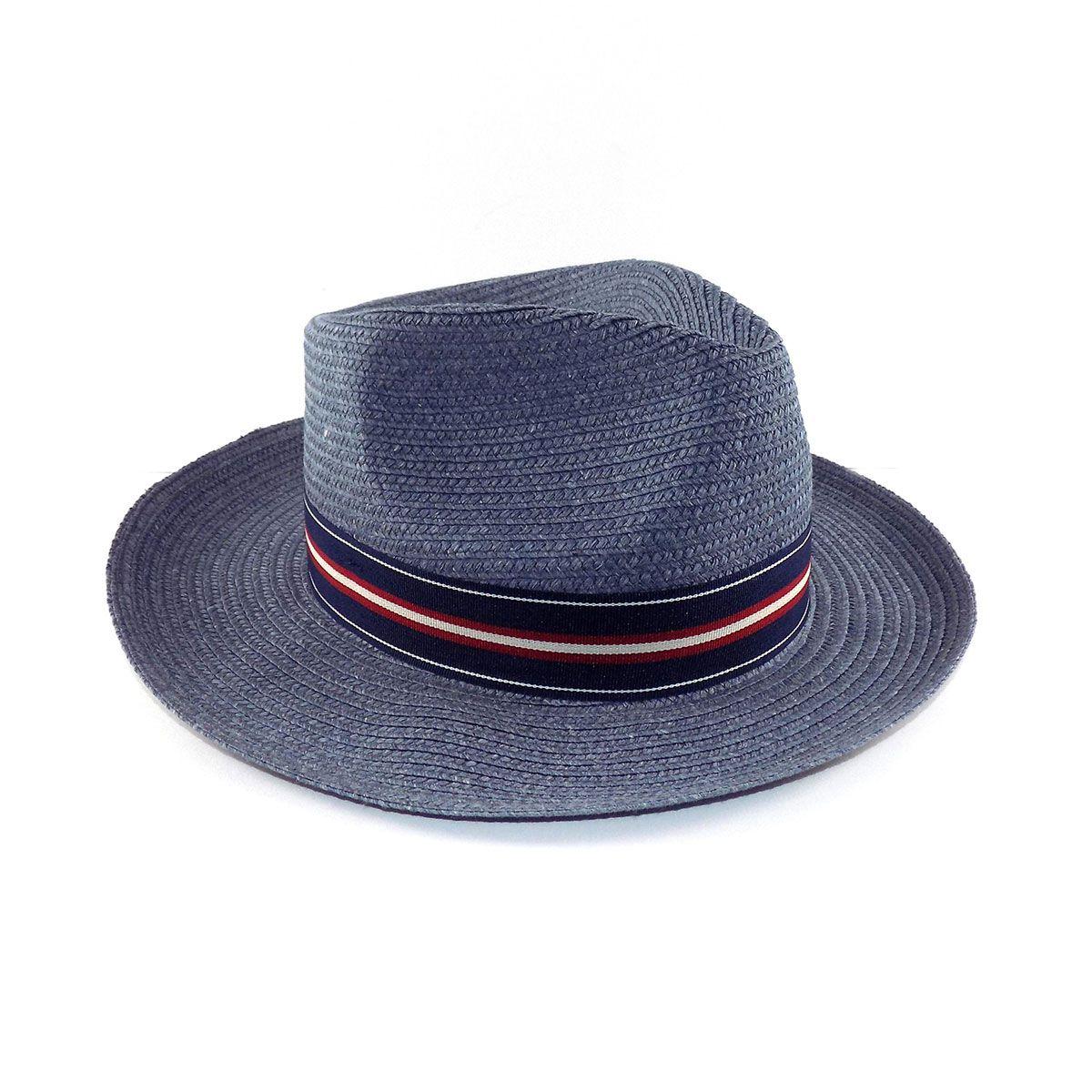 Chapéu Rio Branco Fedora Social Proteção UV - Jeans