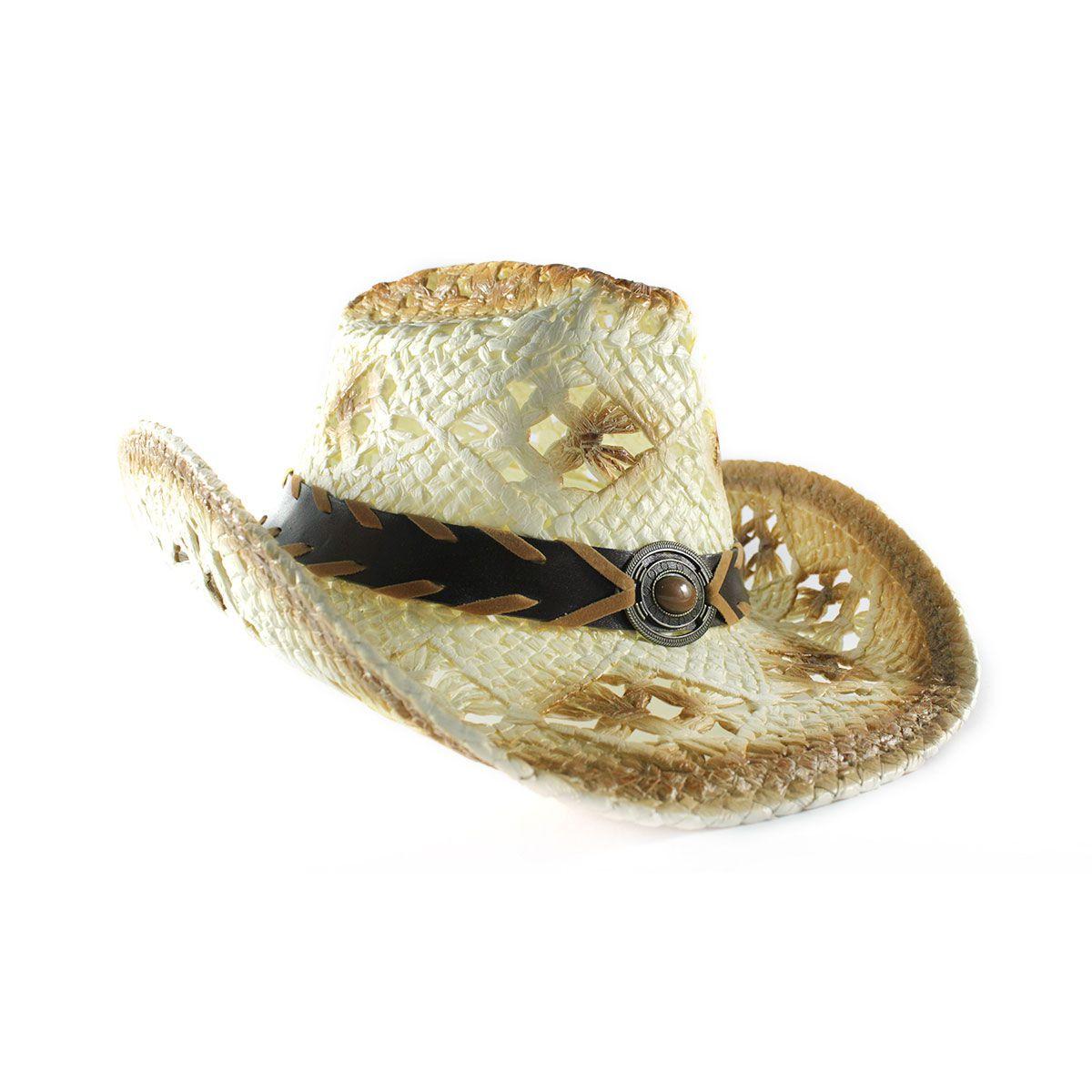Chapéu Yankee Country Furadinho - Bege