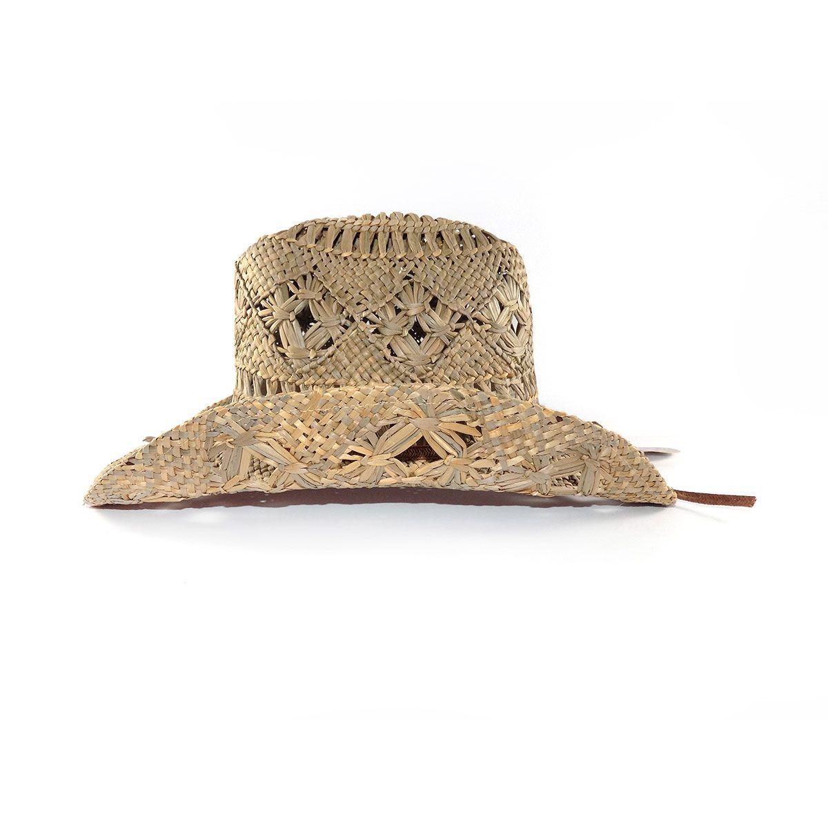 Chapéu Yankee Country Furadinho - Palha