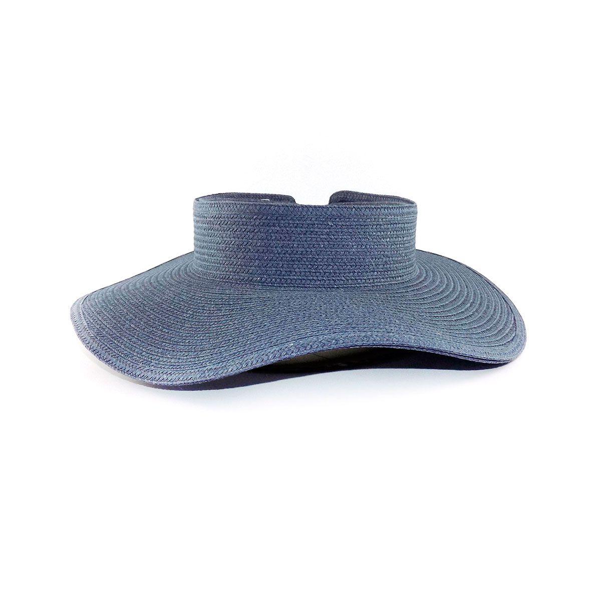 Viseira com proteção UV - FPU+50 - Jeans