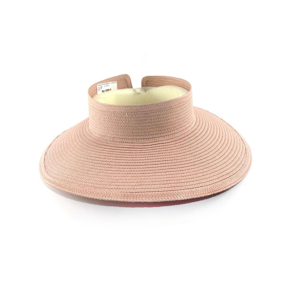Viseira com proteção UV - FPU+50 - Nude