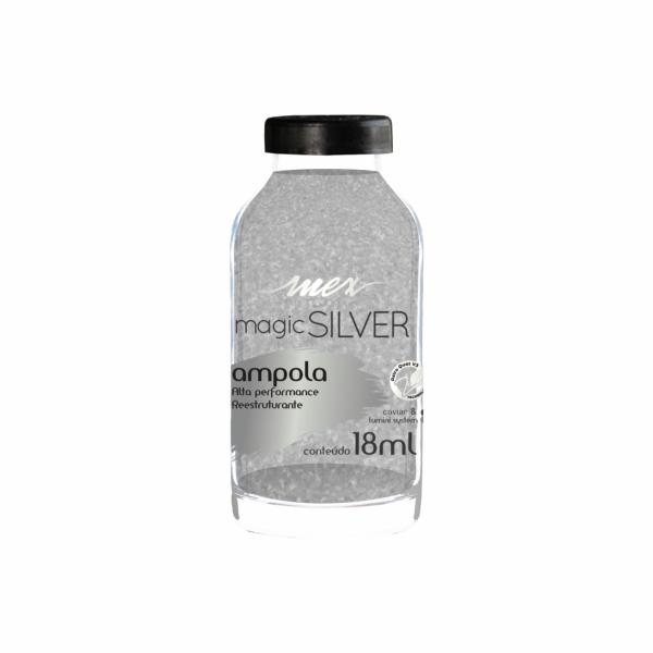 Ampola Mágica Silver Mex Pure Hair 18ml