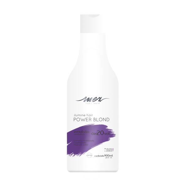Emulsão Reveladora OX 20 Vol. Ilumine Hair Power Blond Mex Pure Hair 900ml
