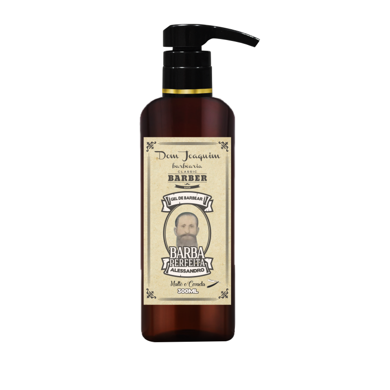 Gel de Barbear Alessandro barba perfeita 300ml