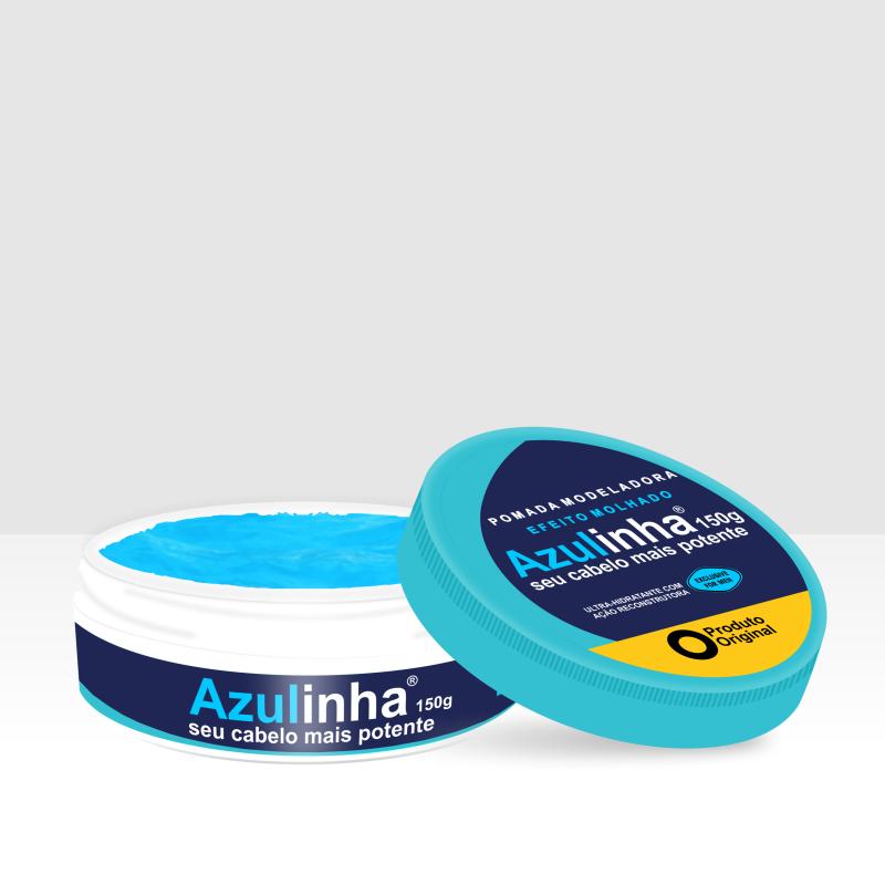 Kit Azulinha 2 Pomadas Modeladoras Efeito Molhado 150g