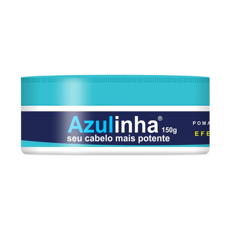 Kit Azulinha 2 Pomadas Modeladoras Efeito Seco 150g