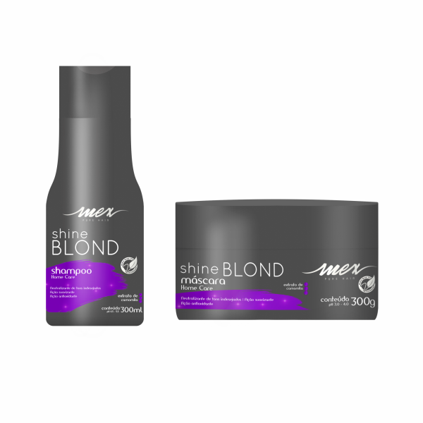 Kit Mex Blond Shampoo e Máscara 300ml