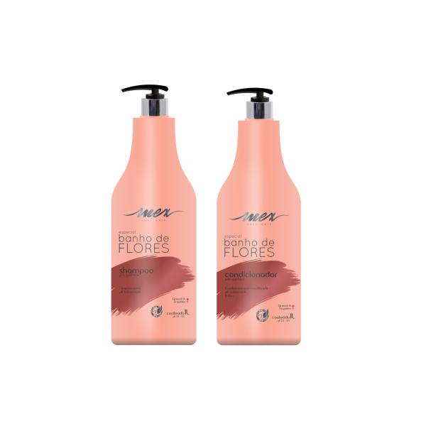 Kit Mex Pós Quimica Shampoo e Condicionador 1L