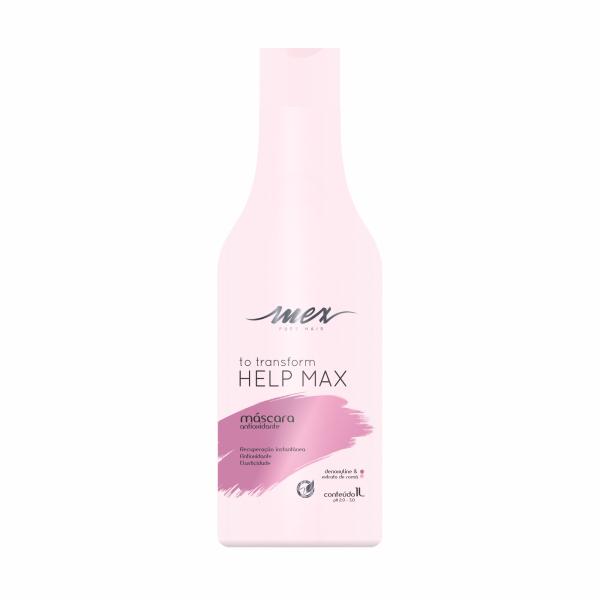 Máscara Antioxidante To Transform Help Max Mex Pure Hair 1L