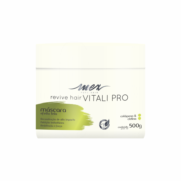 Máscara Efeito Teia Revive Hair Vitali Pro Mex Pure Hair 500g