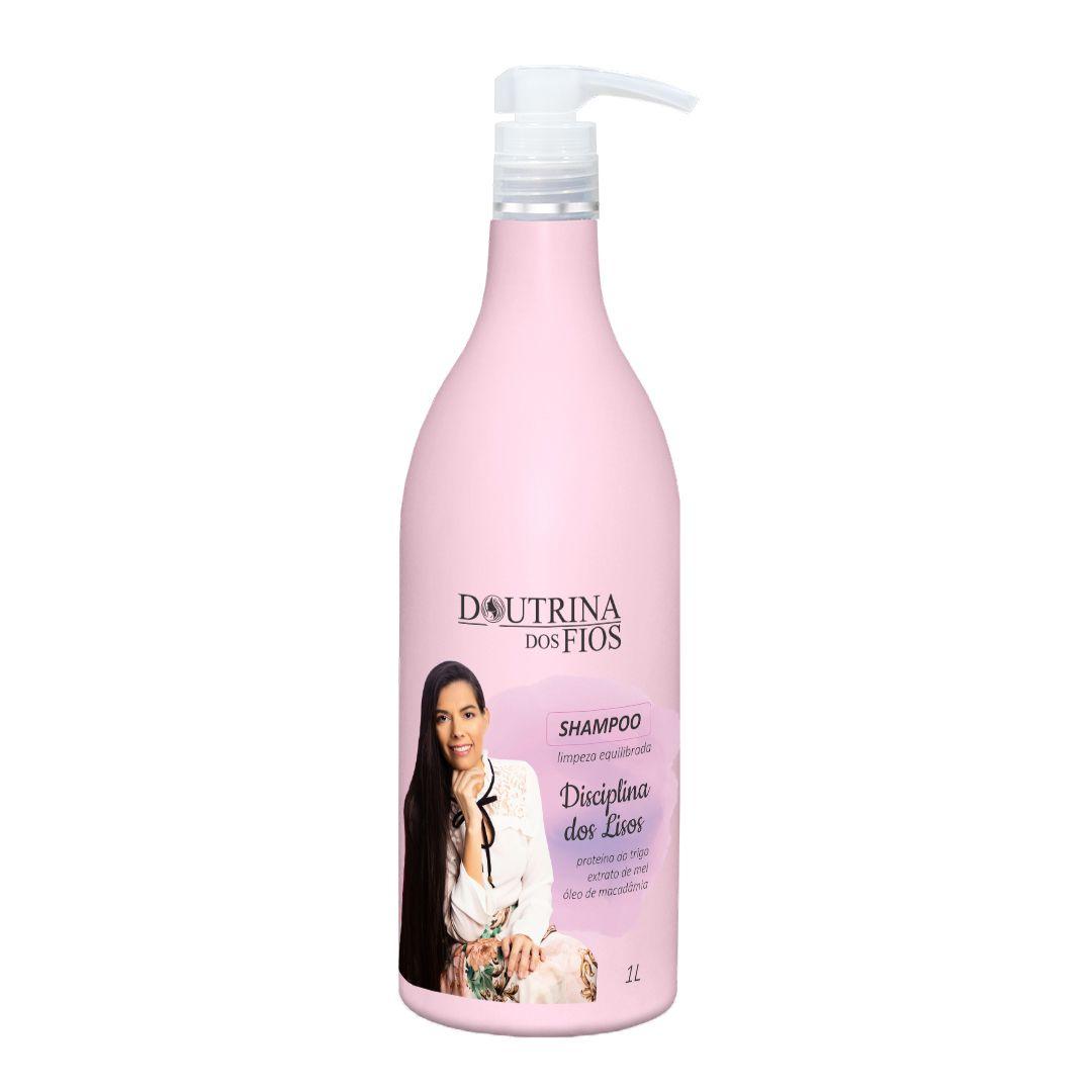 Shampoo Disciplina dos Lisos 1L