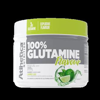 100% GLUTAMINE FLAVOUR   LIMÃO (200g)
