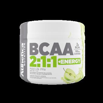 BCAA 2:1:1 +ENERGY | MAÇÃ VERDE (210G)