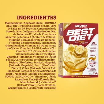 BEST DIET | MILKSHAKE BANANA (350G)