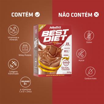 BEST DIET | MILKSHAKE CHOCOLATE (350G)
