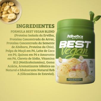 BEST VEGAN | BOLO DE BANANA (500G)