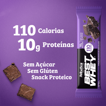 BEST WHEY BAR | BROWNIE CHOCOLATE (1 UNIDADE)