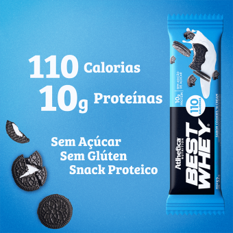 BEST WHEY BAR | COOKIES E CREAM (1 UNIDADE)