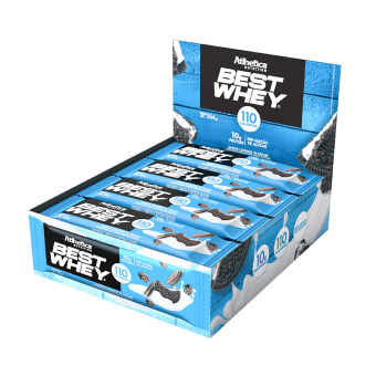 BEST WHEY BAR | COOKIES E CREAM (DISPLAY 12 UNIDADES)
