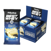 BEST WHEY CHOCOLATE PROTEICO LACTOSE FREE DISPLAY 12 UNIDADES 25G COOKIES