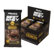 BEST WHEY CHOCOLATE PROTEICO LACTOSE FREE DISPLAY 12 UNIDADES 25G CRUNCHY