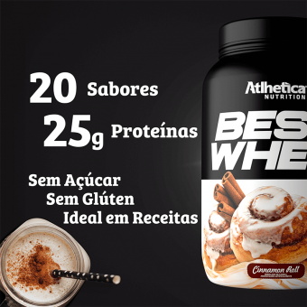 BEST WHEY | CINNAMON ROLL (900G)