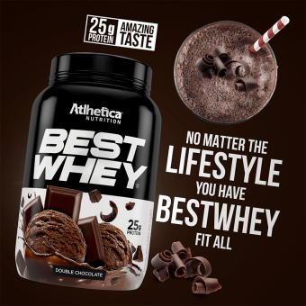 BEST WHEY | DOUBLE CHOCOLATE (900G)