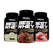 BEST WHEY ISO 900G  TODOS OS SABORES