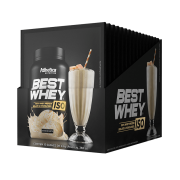 BEST WHEY ISO DISPLAY 15 SACHÊS DOCE DE LEITE